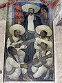 Detail from Corrido of the Agrarian Revolution, 1923, Fresco. Second floor, third level. Secretaría de Educación Pública, Mexico..jpg