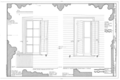 Details - Dining Room Window, Window at Queen Anne Room, Sewell Avenue, Chair Rail, Window Trim - Chalfonte Hotel, Howard Street and Sewell Avenue, Cape May, Cape HABS NJ,5-CAPMA,36- (sheet 3 of 3).png