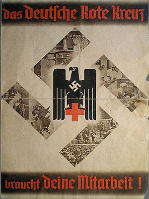 German Red Cross - German Red Cross recruitment war poster