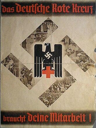 German Red Cross - German Red Cross recruitment war poster