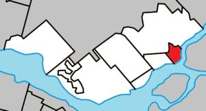 Deux-Montagnes, Quebec - Image: Deux Montagnes Quebec location diagram