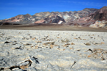 English: Devil's Golf Course in Death Valley N...