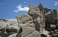 Differentially cemented & eroded sandstone (member C, Uinta Formation, Eocene; Fantasy Canyon, Utah, USA) 19 (24217652013).jpg