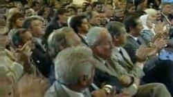 CFK en su discurso del 25 de enero de 2012 en el Salón Mujeres Argentinas de la Casa Rosada, luego de su operación.