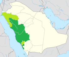 Distribution of Hejazi Arabic in Saudi Arabia.png