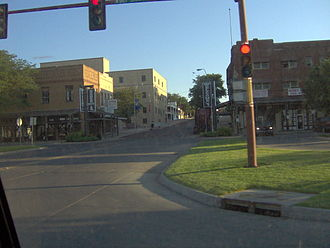 National Register of Historic Places listings in Ford County, Kansas - Image: Dodge City Downtown Historic District
