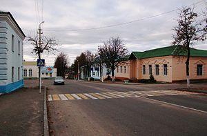 Dokshytsy - In the center of town