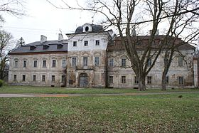 The Morzin palace in Dolní Lukavice, Czech Republic (Source: Wikimedia)