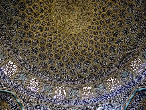 Dome of Sheikh Lotfollah Mosque - Isfahan - Iran (7433088760)