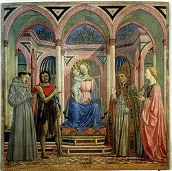 Domenico Veneziano: Santa Lucia de' Magnoli Altarpiece