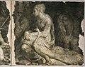 Domenico brusasorzi, affreschi dalla facciata di palazzo fiorio della seta, 155 circa, giunone e altre figure.jpg