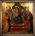 Domenico ghirlandaio, sacra conversazione di lucca, 1479, 02.JPG