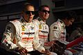 Dominik Farnbacher, Allan Simonsen and Leh Keen Drivers of Hankook Team Farnbacher's Ferrari 458 Italia.jpg