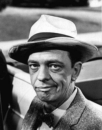 Don Knotts, American actor and stand-up comedian