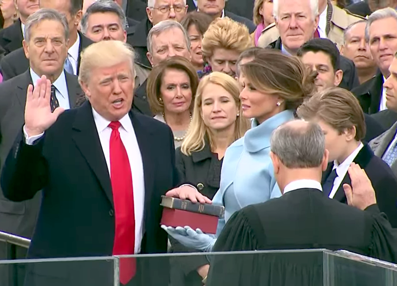 File:Donald Trump taking his Oath of Office.png