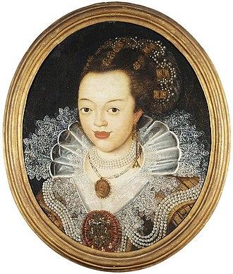 Dorothea of Anhalt-Zerbst - Image: Dorothea von Anhalt Zerbst (1607 1634)