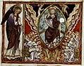 Douce Apocalypse - Bodleian Ms180 - p.039 Christ proclaimed by the elders.jpg