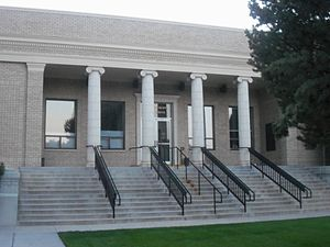National Register of Historic Places listings in Douglas County, Nevada - Image: Douglas County Courthouse