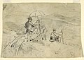 "Drawing, Study for ""Artists Sketching in the White Mountains"" and ""The Artist in the Country"", 1868 (CH 18174807-2).jpg"