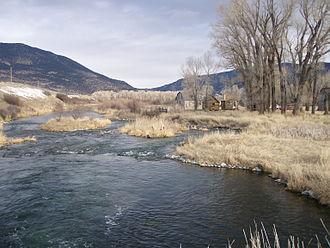 DePuy Spring Creek - Upper Section of DePuy Spring Creek, January 2008