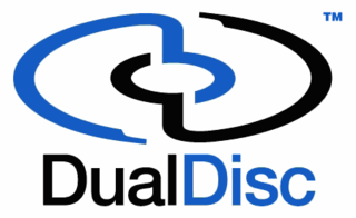 DualDisc double-sided optical disc