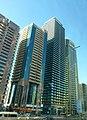Dubai - Downtown Dubai - Sheikh Zayed Road - Union Tower - Four Points by Sheraton - Saeed Tower 2 - وسط مدينة دبي - شارع الشيخ زايد - برج الاتحاد - فور بوينتس باي ش - panoramio.jpg