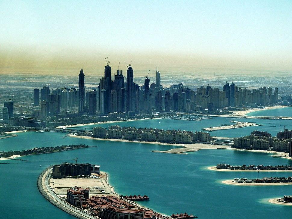 Dubai - Palm Jumeirah und Dubai Marina - %D8%A7%D9%84%D9%86%D8%AE%D9%84%D8%A9 %D8%AC%D9%85%D9%8A%D8%B1%D8%A7 %D9%88%D9%85%D8%B1%D8%B3%D9%89 %D8%AF%D8%A8%D9%8A - panoramio