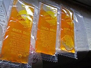 Duck sauce - Image: Duck sauce packets