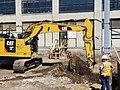 Duct bank excavation east of Queens Boulevard. (CQ033, 07-09-2018) (43388526821).jpg