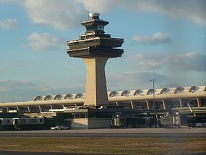 Nonbuilding structure - Dulles Airport control tower