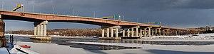 Dunn Memorial Bridge - The Dunn Bridge from Albany