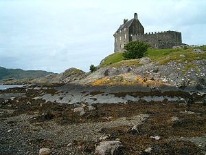 Duntrune Castle - Duntrune Castle from the east