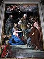 Duomo di colle, int., cappelle di dx, 04, altare di giovanni odazzi, sposalizio 02.JPG