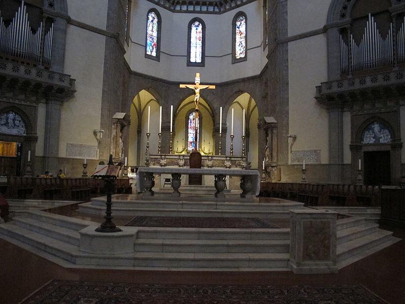 Duomo di firenze, altare centrale.JPG