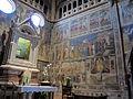 Duomo di orvieto, cappella del corporale 02 affreschi di ugolino di prete ilario e aiuti (1357-64).JPG