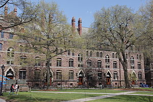 Durfee Hall - Durfee Hall from the southwest