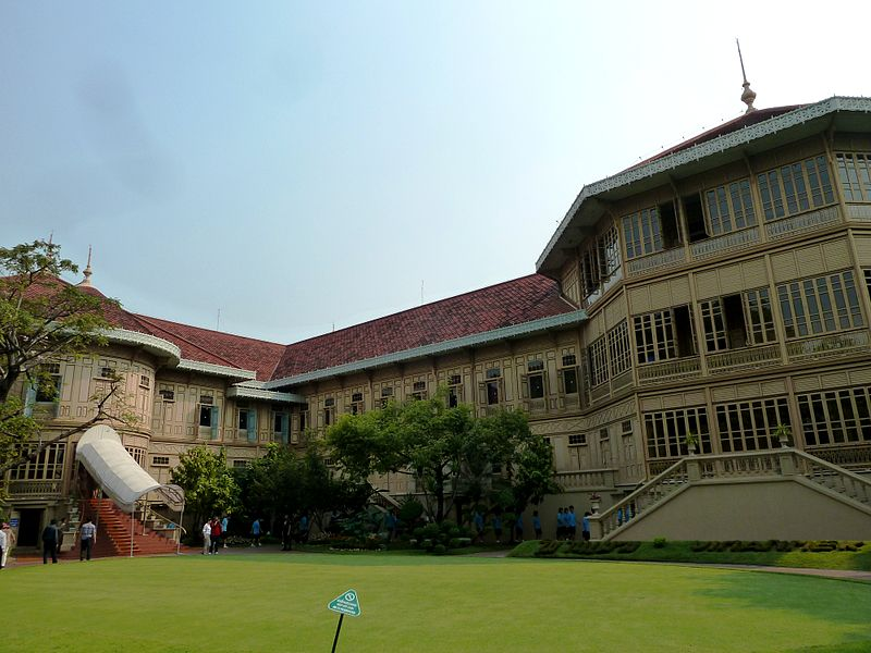 Dusit Palace; palaces to visit in Thailand