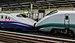 E2 Series and E3-2000 Shinkansen in multiple-unit train control at Utsunomiya Station 130812 1-2.jpg