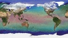 Datei: ECCO2 Meeresoberflächentemperatur und Flows.ogv