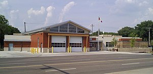 Edmonton Fire Rescue Services - New Number 5 Station