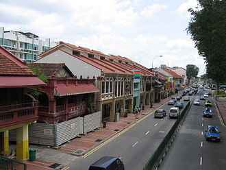 Chinese Singaporeans - Peranakans in Singapore were once concentrated in Katong.