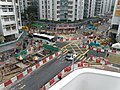 East construction site of Whampoa Station.JPG