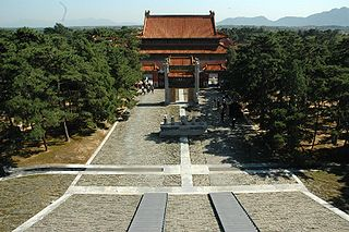 Eastern Qing tombs mausoleum