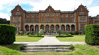 Easthampstead Park - Back of house and gardens