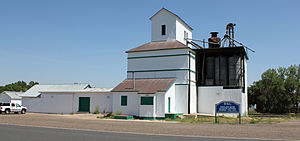Eastlake, Colorado - The Eastlake Farmers Co-Operative Elevator Company, located at 126th Avenue and Claude Court in the Eastlake Neighborhood of Thornton.