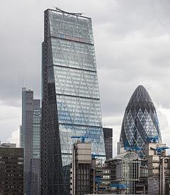 Edificio Leadenhall Y Gherkin Londres Inglaterra 2014 08 11 DD