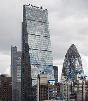 Rogers Stirk Harbour + Partners - Image: Edificio Leadenhall y Gherkin, Londres, Inglaterra, 2014 08 11, DD 153