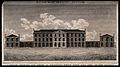 Edinburgh Lunatic Asylum, Scotland. Line engraving by R. Sco Wellcome V0012576.jpg