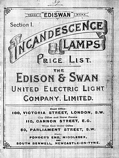 Edison and Swan Electric Light Company