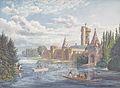 Eduard Gurk - Die Franzensburg in Laxenburg bei Wien - um 1838.jpg